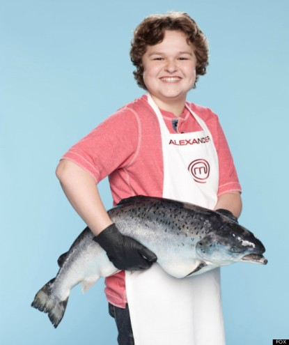 MASTERCHEF JUNIOR: Contestant Alexander, 13, from New York, NY. Cr: Greg Gayne / FOX. © Copyright: FOX.
